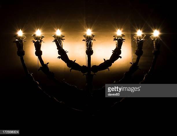 Sieben Filialen candlestick