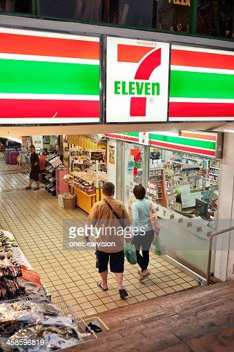 Seven Eleven Store, Chiang Mai, Thailand