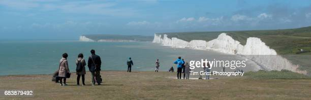 Seven Sisters Cliffs Panorama