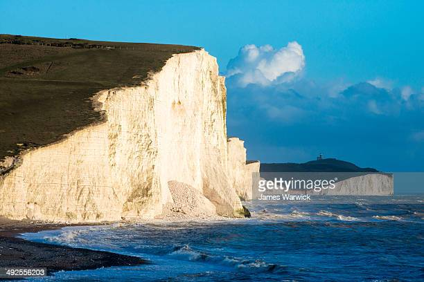 Seven Sisters from Cuckmere Haven beach