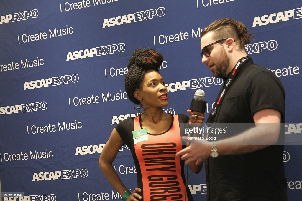 Seven30 Music CEO Nick Jarjour (R) attends the 2016 ASCAP 'I Create Music' EXPO on April 30, 2016 in Los Angeles, California.