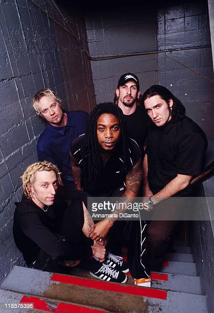 Sevendust during Sevendust Photo Session at The Palace at The Palace in Hollywood California United States
