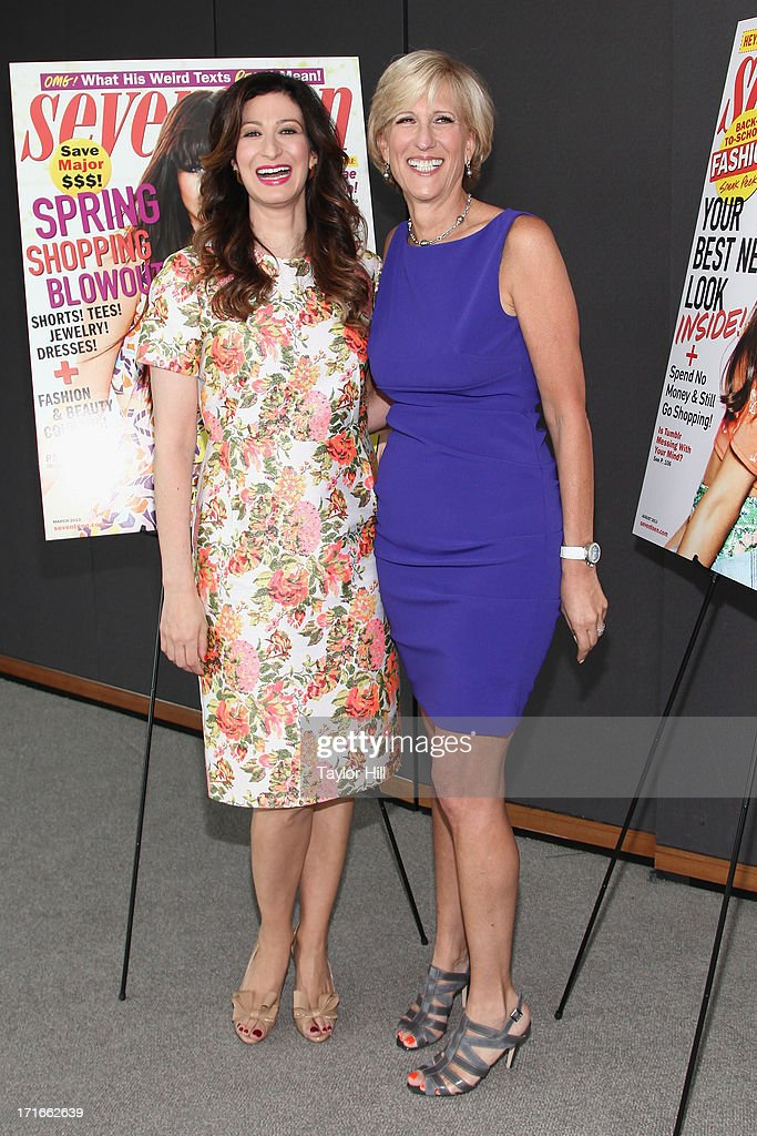 Seventeen editor-in-chief Ann Shoket and publisher Jayne Jamison attend the Seventeen Magazine Luncheon Honoring 'Pretty Amazing' Finalists at Hearst Tower on June 27, 2013 in New York City.