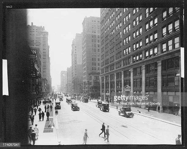 Seventh Avenue looking south from 31st Street New York New York 1920s