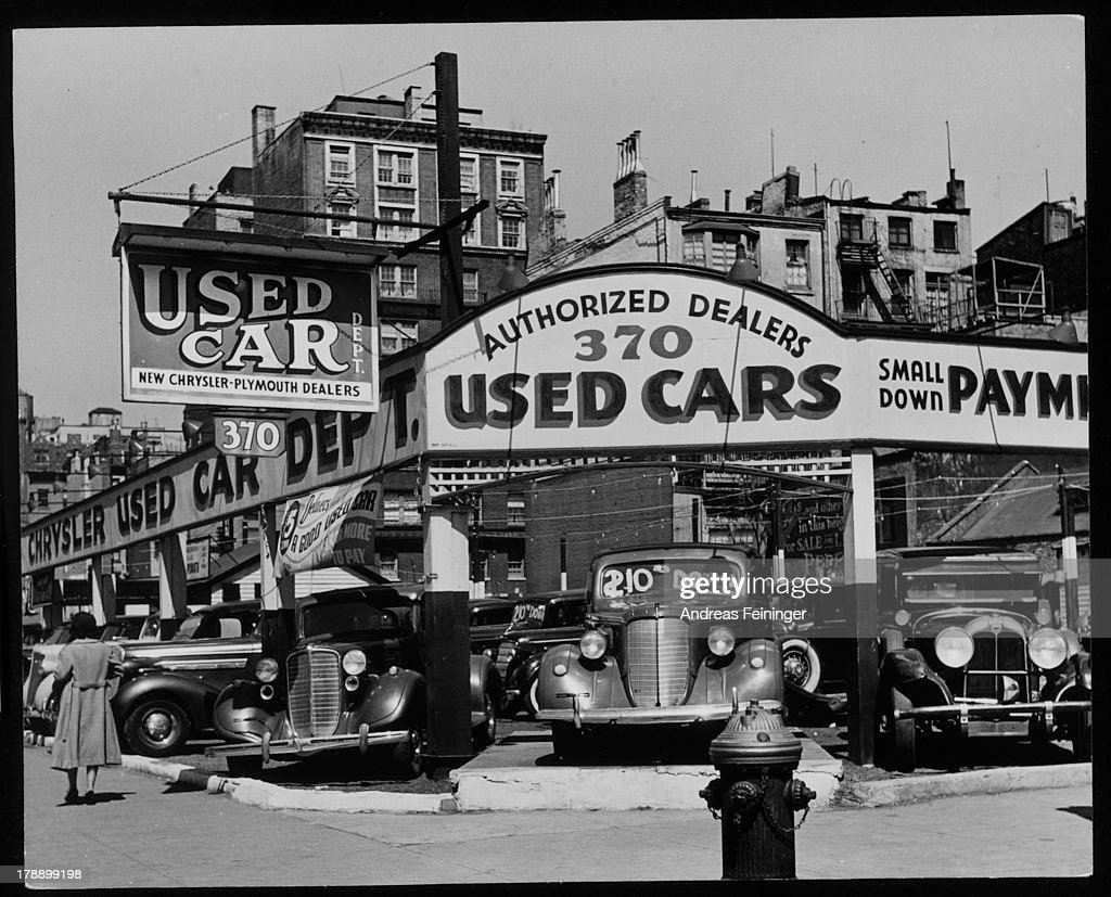 Seventh Avenue New York New York 1940