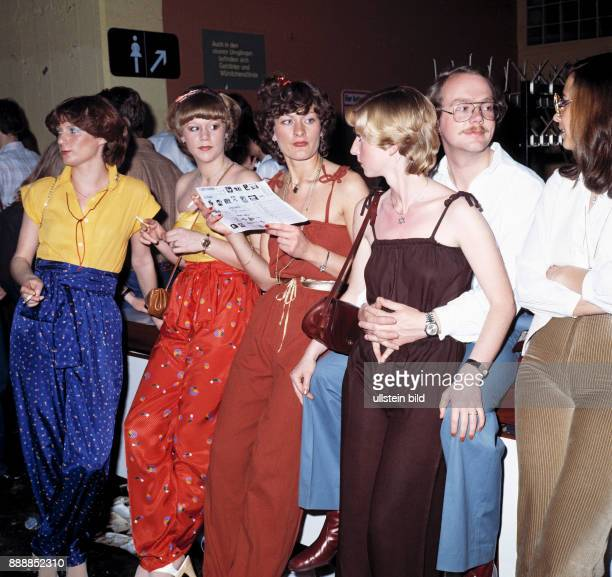 Seventies cultural event 1979 in the Westfalenhalle Dortmund Bild Disco discotheque organized by the Bild Zeitung dance contest with nomination of...