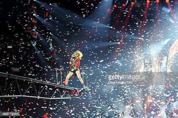 Seventime Grammy winner Taylor Swift concluded the European leg of her RED tour with her 5th soldout show at London's O2 Arena playing to a capacity...