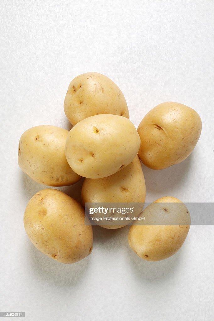 Several potatoes
