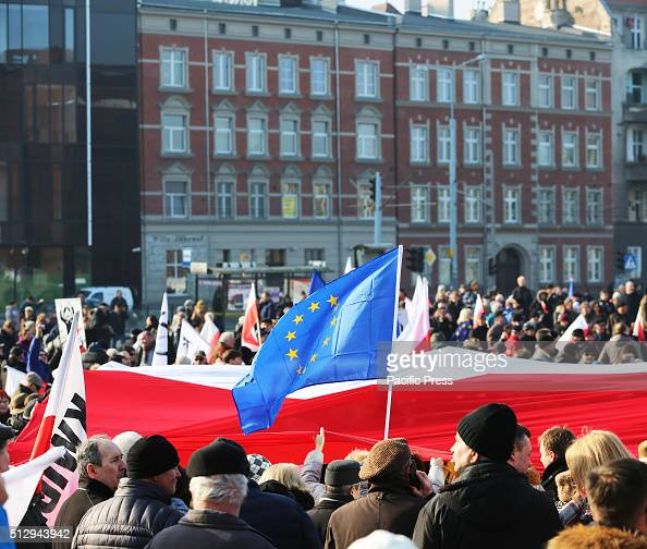 Several thousand people from across Poland came to the ...