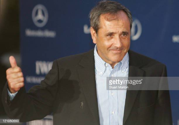 Severiano Ballesteros during 2006 Laureus Sports Awards Welcome Party Arrivals at Museu Nacional d'Art de Catalunya in Barcelona Spain