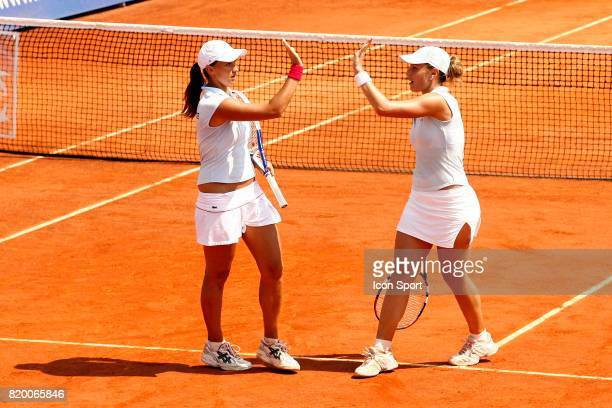 Severine BREMOND / Tatania GOLOVIN France / Republique Tcheque Fed Cup Match de Barrage Cagnes Sur Mer