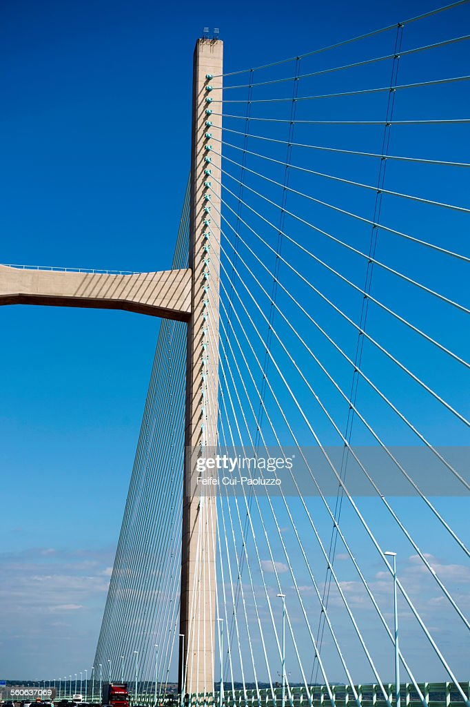 Severn bridge near Bristol South West England