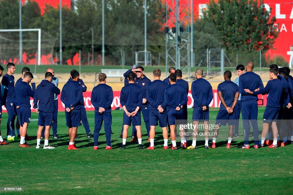 Sevilla FC & Liverpool FC Training Sessions