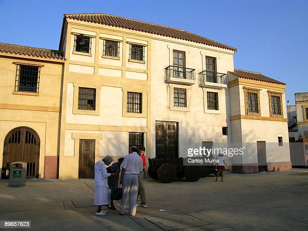 Seville Andalusia Isla Magica Fairground 'Seville' Area