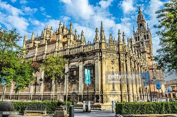 Cattedrale di Siviglia durante il giorno