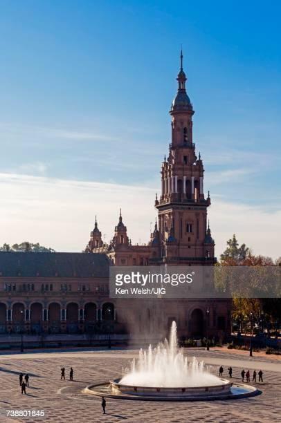 'Seville, Spain. Plaza de Espa–a.'