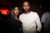 Sevyn Streeter and Joe Budden attend the Sevyn Streeter Album Release Party at Mister H on December 2 2013 in New York City