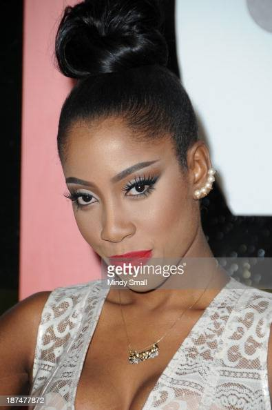 Sevyn Streeter arrives at the Soul Train Awards 2013 at the Orleans Hotel Casino on November 8 2013 in Las Vegas Nevada