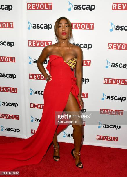 Sevyn Streeter at the ASCAP 2017 Rhythm Soul Music Awards at the Beverly Wilshire Four Seasons Hotel on June 22 2017 in Beverly Hills California