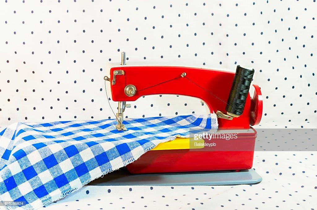sewing machine : Stock Photo