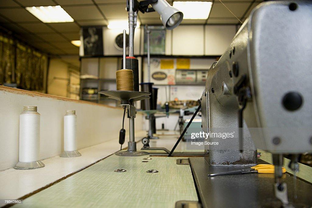 A sewing machine : Stock Photo