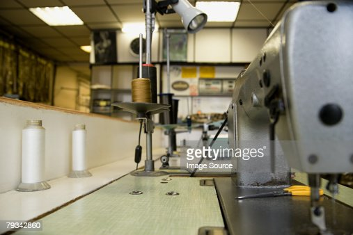 A sewing machine : Stock Photo