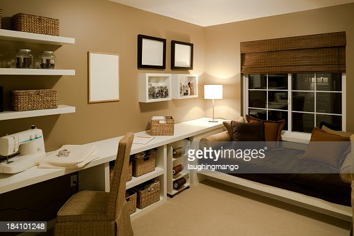 Sewing Room Basement House Home Interior Stock Photo Getty Images