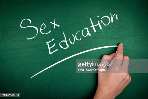 Sex Education : Stock Photo