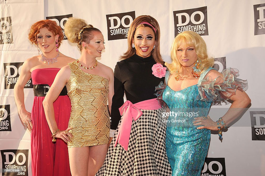 'Sex in the City' female impersonators attend DoSomething.org's celebration of the 2010 Do Something Award nominees at The Apollo Theater on May 24, 2010 in New York City.