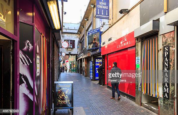 Sex Shops in SOHO, London
