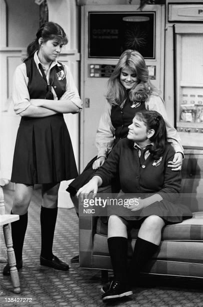 LIFE 'Sex Symbol' Episode 11 Pictured Nancy McKeon as Joanne 'Jo' Polniaczek Lisa Whelchel as Blair Warner Mindy Cohn as Natalie Green