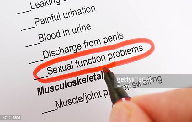Sexuelle Probleme Funktion