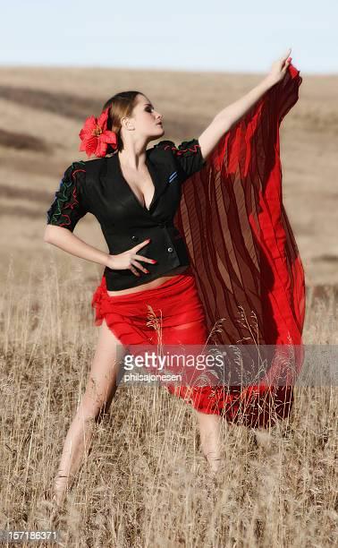 Sexy Bailaora Woman