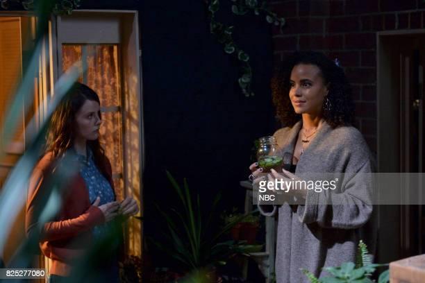 TEXAS 'Sexy Beast' Episode 104 Pictured Sarah Ramos as Creek Parisa FitzHenley as Fiji
