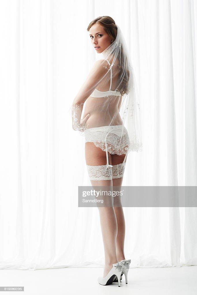 stockings White bride