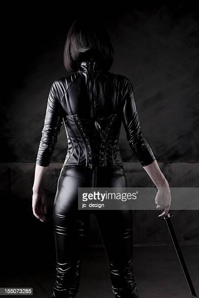 Sexy female assassin series