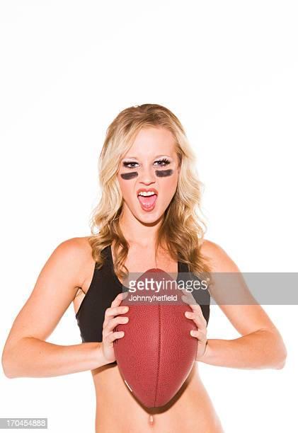 Sexy femme Joueur de football américain