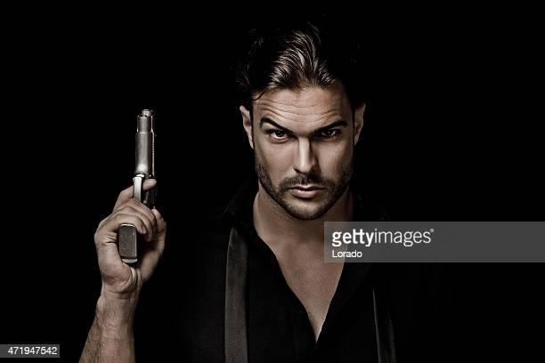 sexy gangster tenant gun