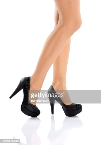 Sexy Legs With High Heels Stock Photo | Getty Images