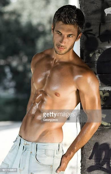 Sexy Männliches model