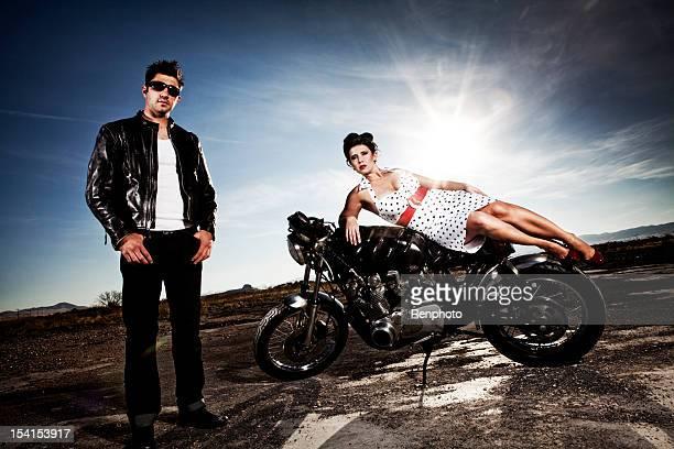 Sexy Couple moto