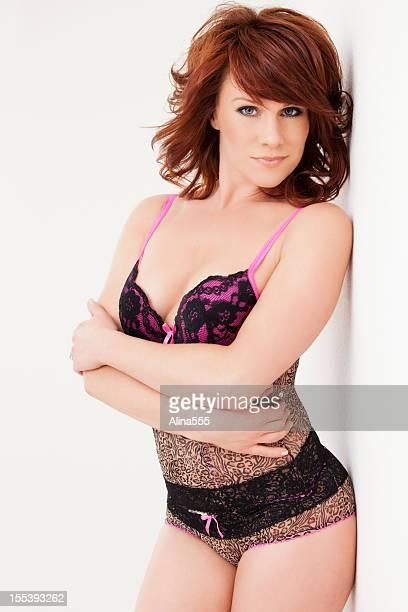 Redhead lingerie models süße Maus&nbsp
