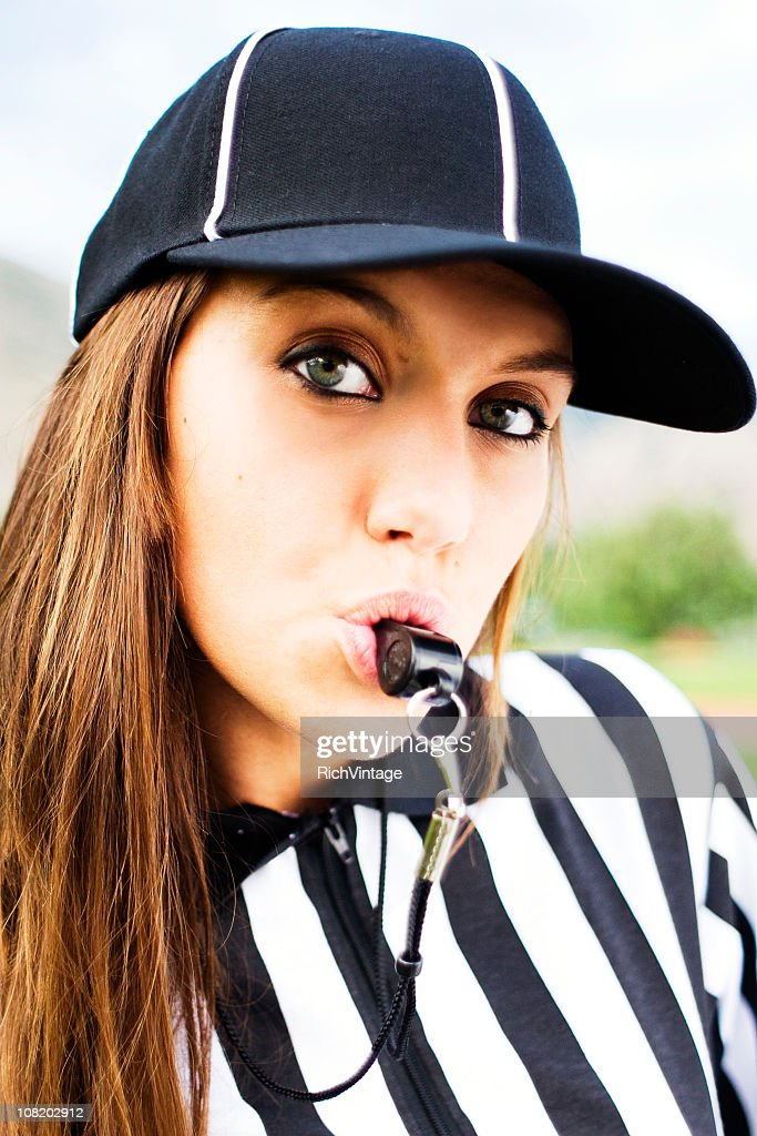 Sexy Referee : Stock Photo