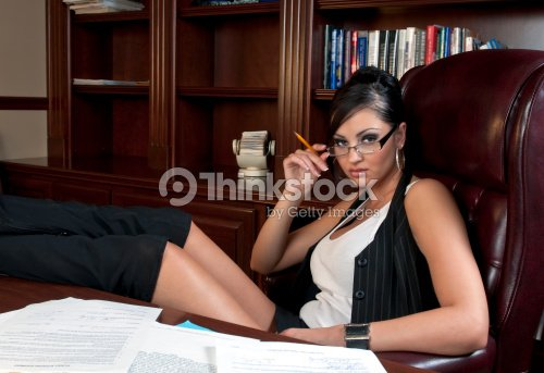 sexy secretario foto de stock thinkstock. Black Bedroom Furniture Sets. Home Design Ideas