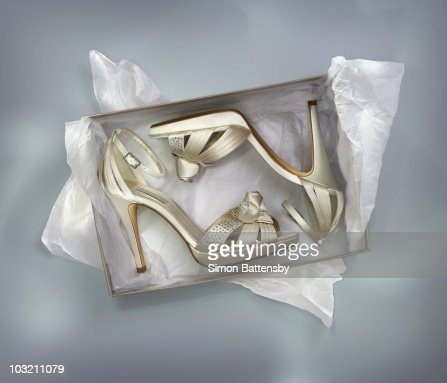Sexy shoes in box