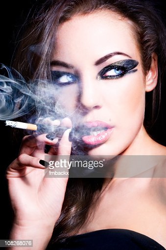 sexy women smoking