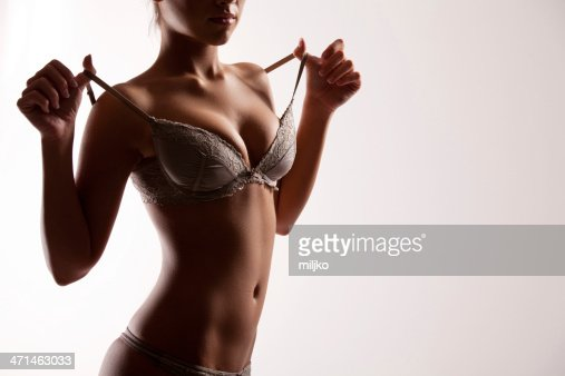 sexy woman body in gray lingerie stock photo | getty images,