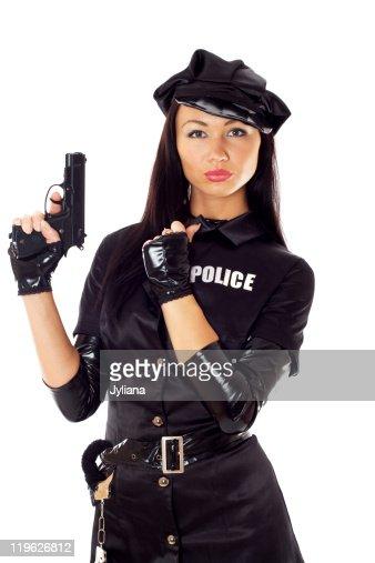 фотографии девушек полицэйской форме скачать