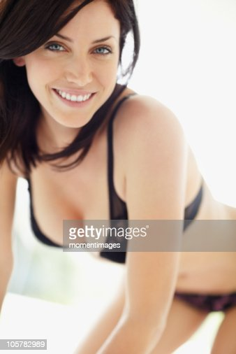 Sexy Woman Wearing Bra And Underwear Stock Photo | Getty Images