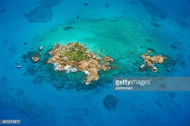 Seychelles island snorkelling paradise